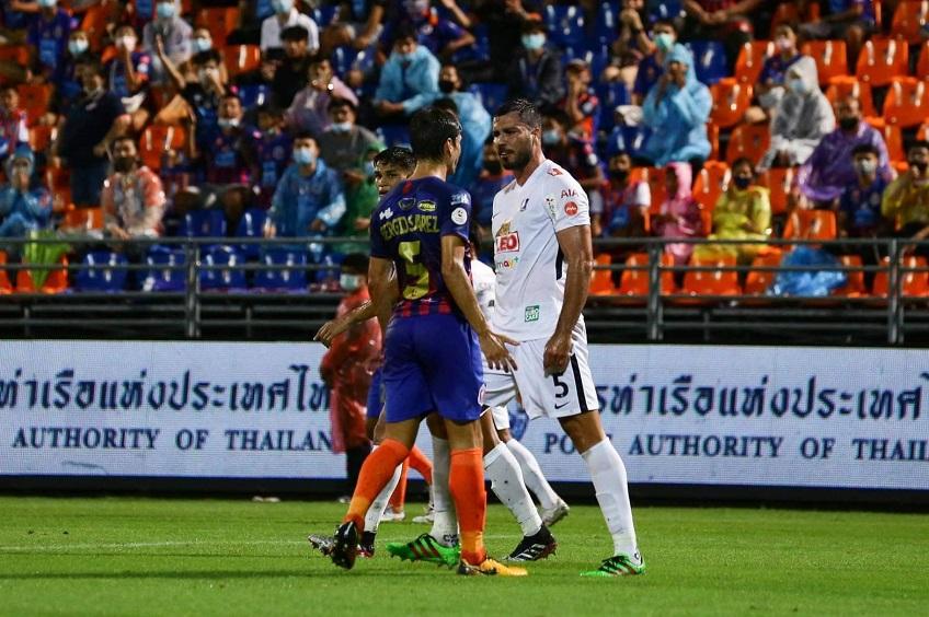 การท่าเรือ เอฟซี 0-1 บีจี ปทุม ยูไนเต็ด