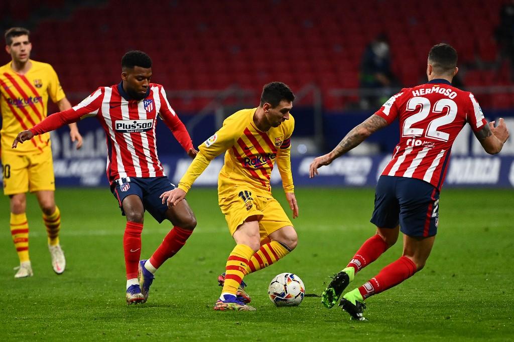 Barcelona legendary striker Lionel Messi.