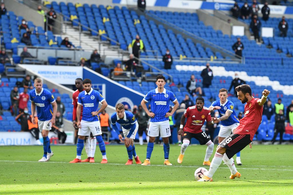 Bruno Fernand, Manchester United midfielder.