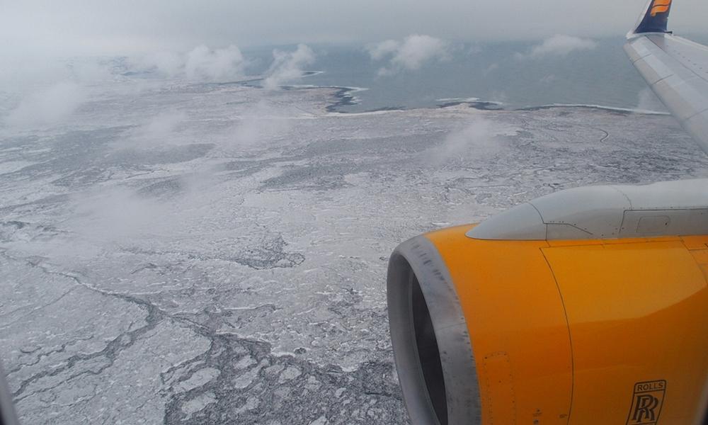 ระหว่างทางไปไอซ์แลนด์
