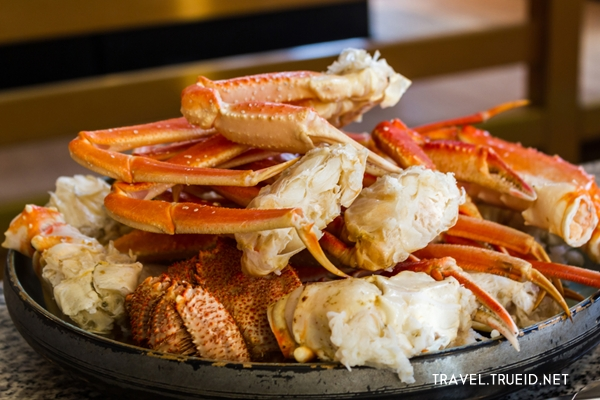 Japanese giant crab at Sapporo