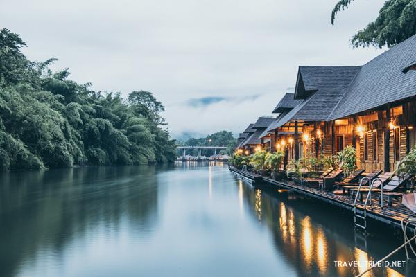 raft house on River Kwai