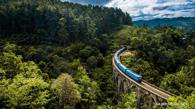 Sri Lanka Train รถไฟ ศรีลังกา