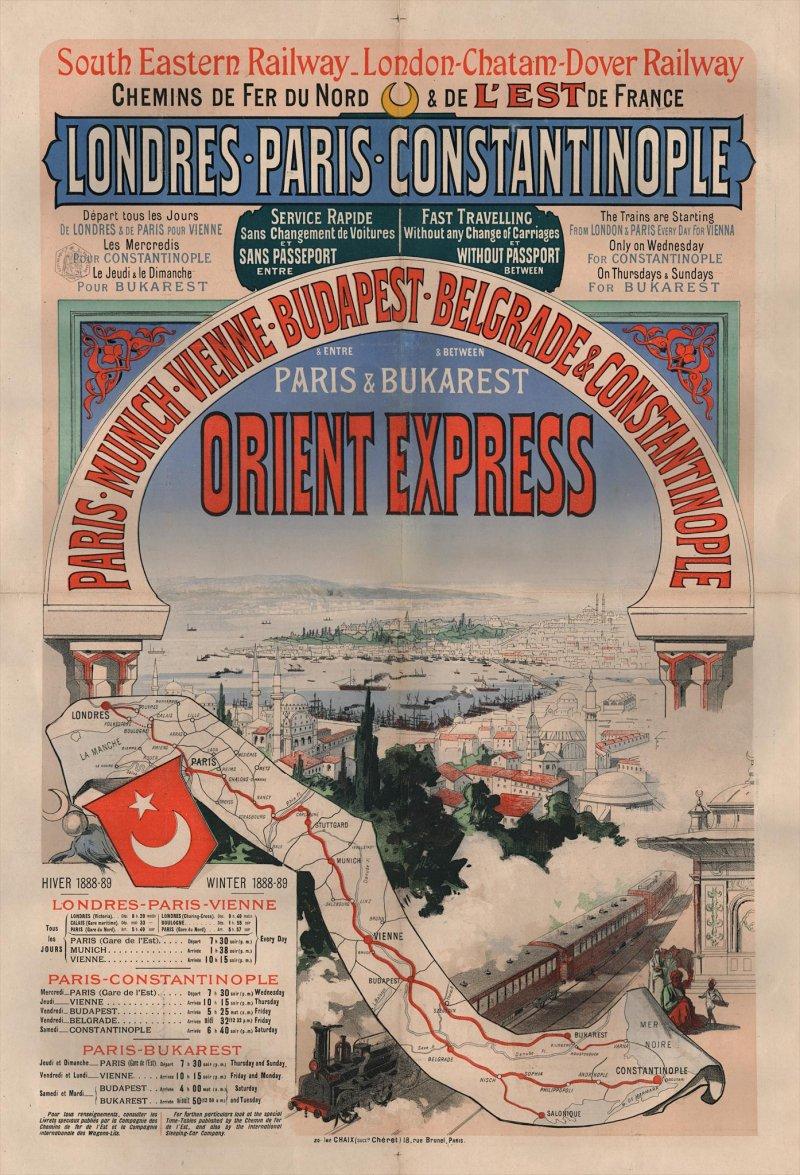 Orient Express นั่งรถไฟเที่ยว