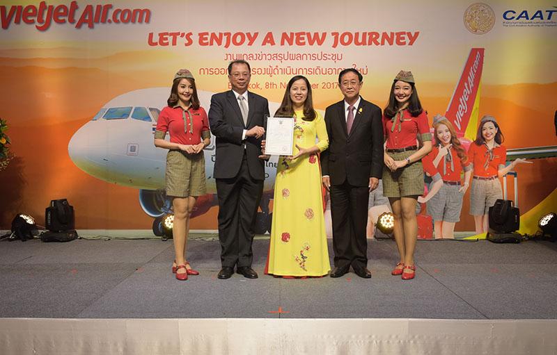 ไทยเวียตเจ็ท ได้รับใบรับรองผู้ดำเนินการเดินอากาศใหม่อย่างเป็นทางการ ประกาศเปิดเส้นทางบินใหม่ เชื่อมกรุงเทพฯ สู่ดาลัต เวียดนาม