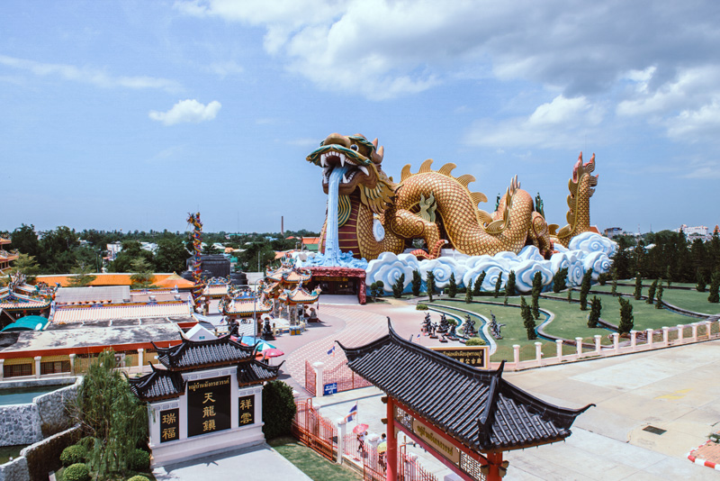 China heaven dragon village