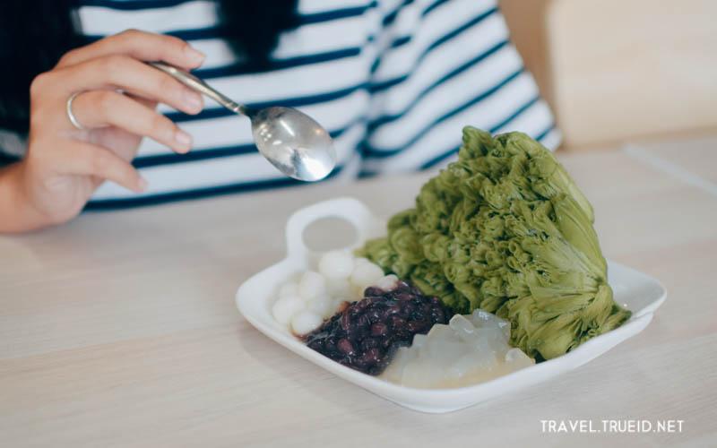 Taiwan Style Shaved Ice-Green Tea
