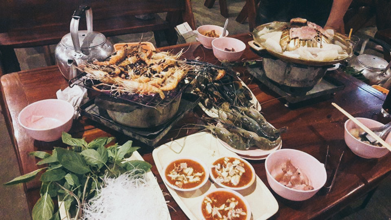 chankasem BBQ seafood