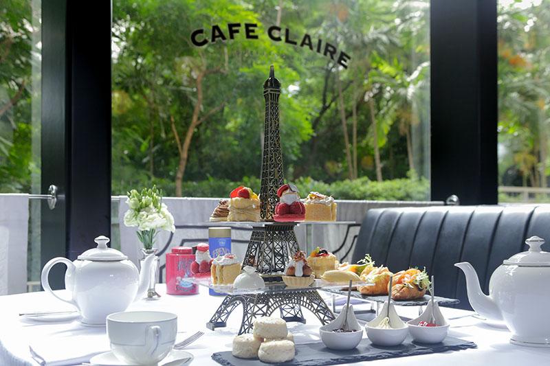 Thpr -Cafe Claire Voyage A Paris Afternoon Tea Set 1