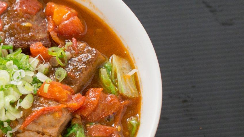 ก๋วยเตี๋ยวเนื้อ Beef Noodle Taiwan