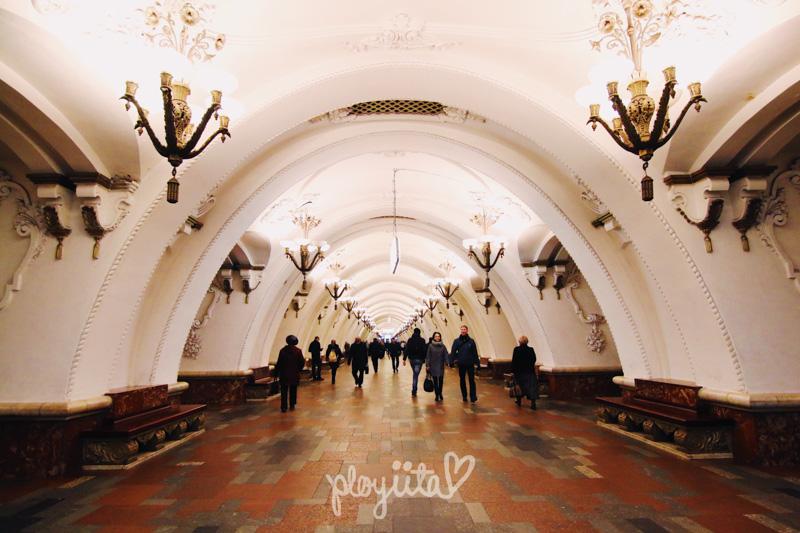 Metro Station Arbatskaya