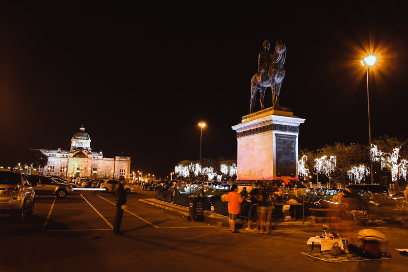 Equestrian statue of King Chulalongkorn