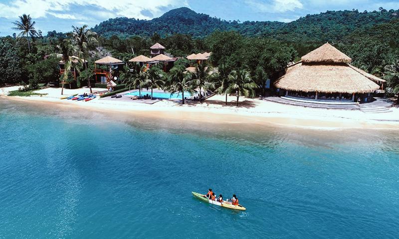 the blue sky resort