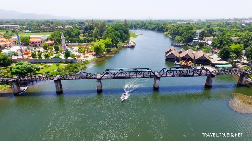 River Kwai กาญจนบุรี