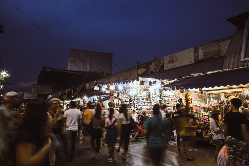Chatuchak night market