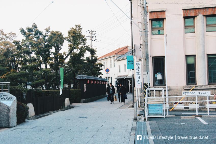 เดินเที่ยวถ่ายรูป หมู่บ้านยีนส์ โคจิม่า ญี่ปุ่น เดนิมฮิปๆ