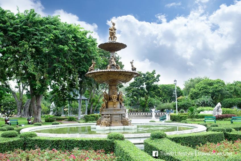 สวนสราญรมย์ เที่ยวกรุงเทพ