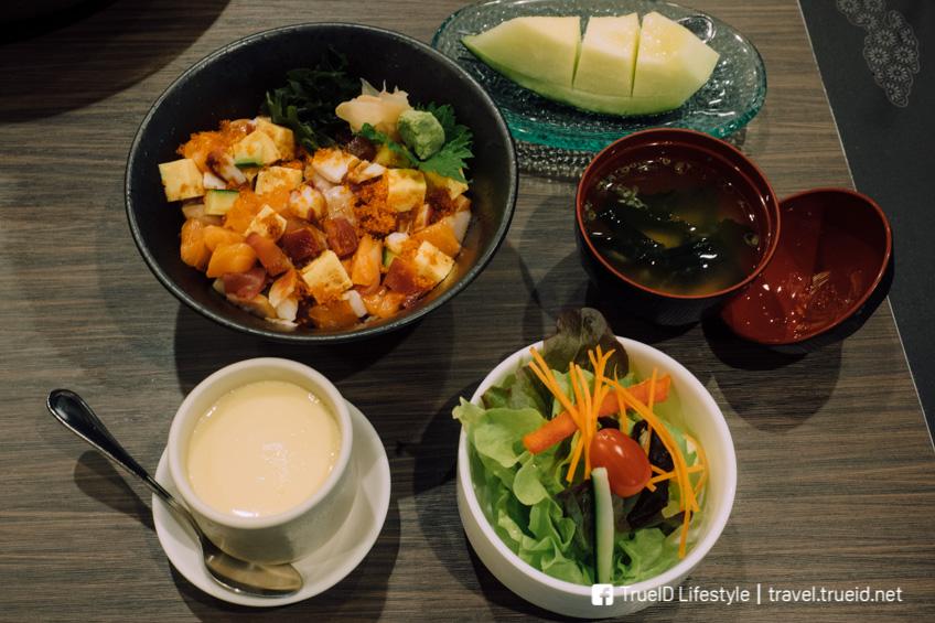 Honmono Sushi อาหารญี่ปุ่น ปลาดิบ เซ็นทรัลพระรามเก้า