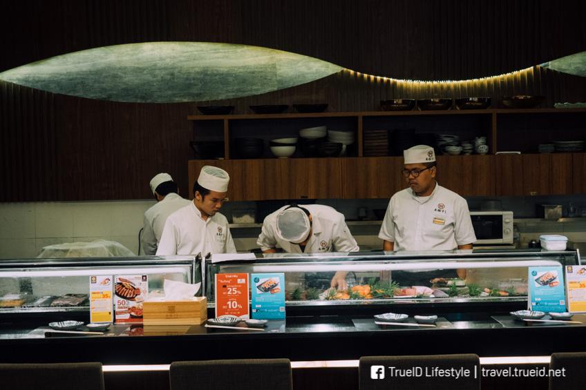 Honmono Sushi อาหารญี่ปุ่น ปลาดิบ เซ้นทรัลพระรามเก้า