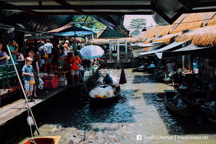 ตลาดน้ำตลิ่งชัน กรุงเทพ