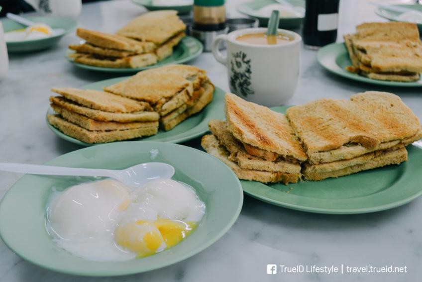 Ya Kun Kaya Toast เที่ยวสิงคโปร์ รถไฟฟ้าใต้ดิน
