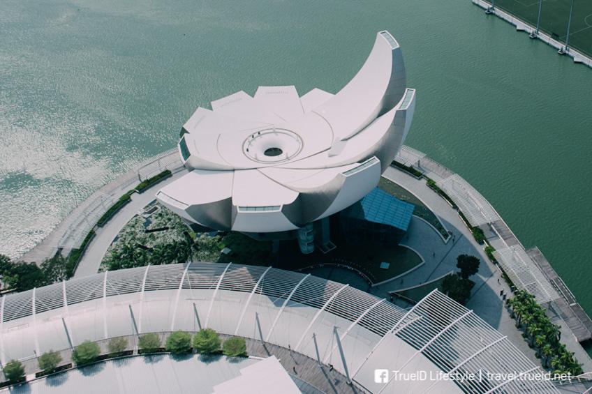 Art Science Museum เที่ยวสิงคโปร์ ตามรถไฟฟ้าใต้ดิน