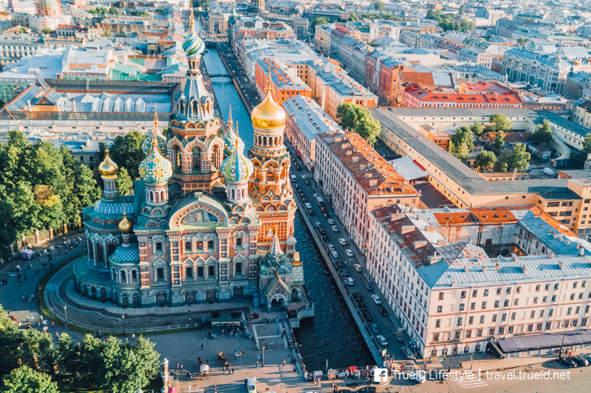 รัสเซีย ประเทศไม่ต้องขอวีซ่า พาแฟนเที่ยว