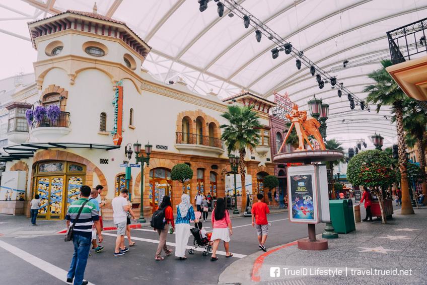 Universal Studio Singapore เที่ยวสิงคโปร์ ตามรถไฟฟ้าใต้ดิน