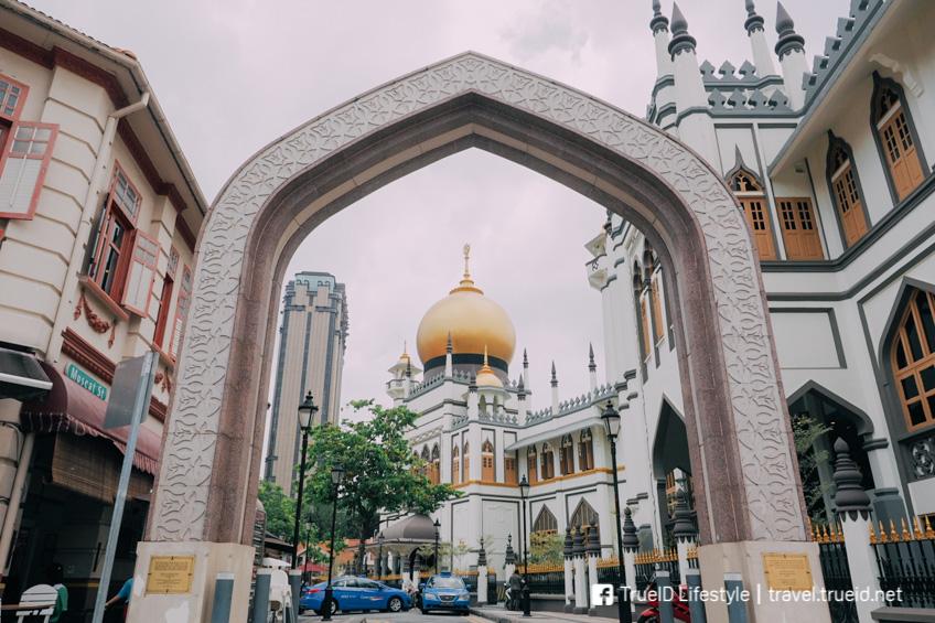 Sultan Mosque เที่ยวสิงคโปร์ ตามรถไฟฟ้าใต้ดิน