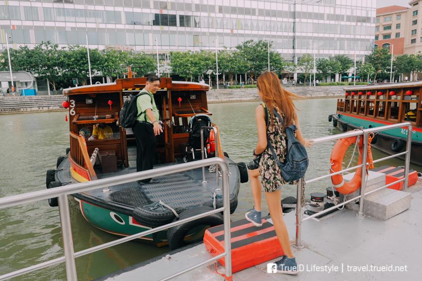 ล่องเรือ Bumboat เที่ยวสิงคโปร์ รถไฟฟ้าใต้ดิน