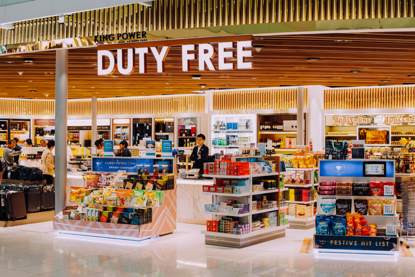 Duty free ซื้อของ ช้อปปิ้งต่างประเทศ