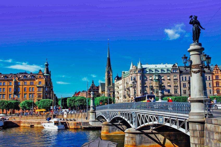 Bridge of Stockholm สต็อกโฮล์ม สวีเดน