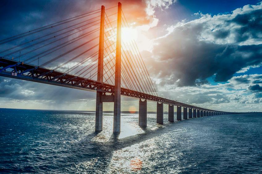 Oresundsbron สต็อกโฮล์ม สวีเดน