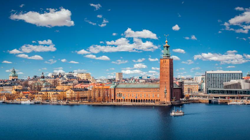 City Hall สต็อกโฮล์ม สวีเดน