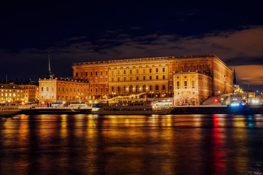 Royal Palace สต็อกโฮล์ม สวีเดน