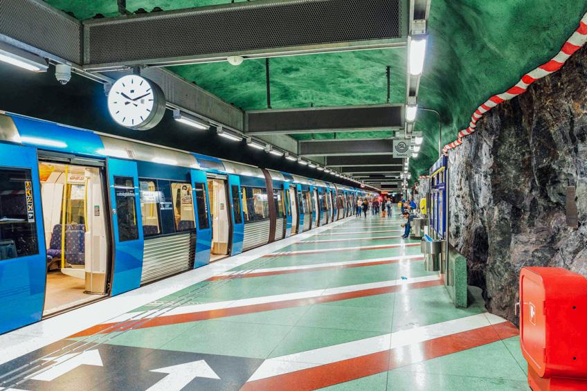 Underground สต็อกโฮล์ม สวีเดน