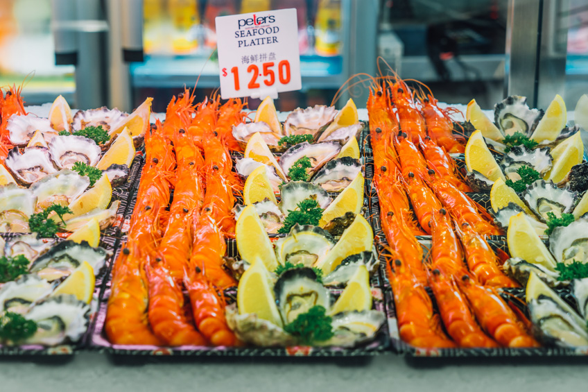 Sydney Fish Market ตลาดปลา