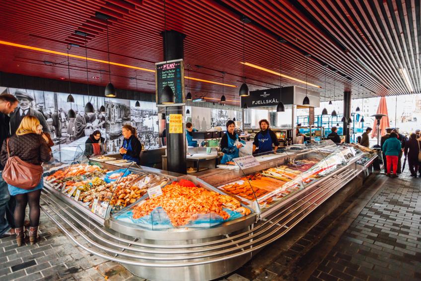 Bergen ตลาดปลา