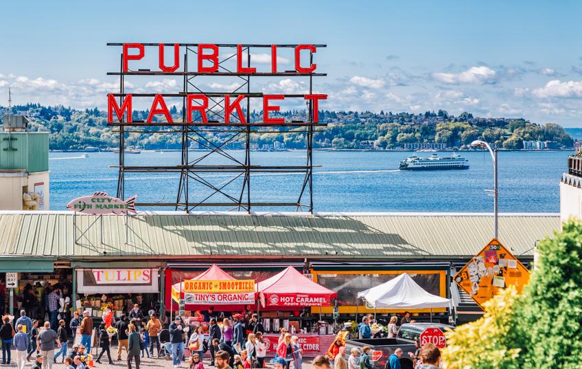 Pike Place, Seattle ตลาดปลาทั่วโลก