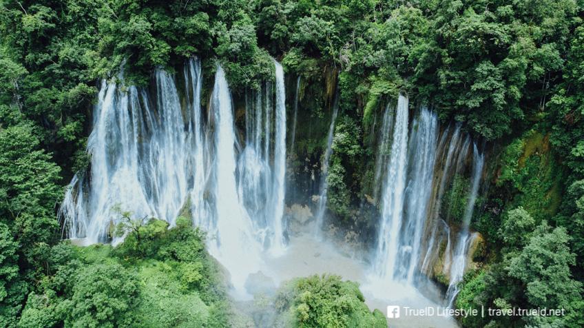น้ำตกทีลอซู ที่เที่ยวภูเขา เที่ยวหน้าฝน