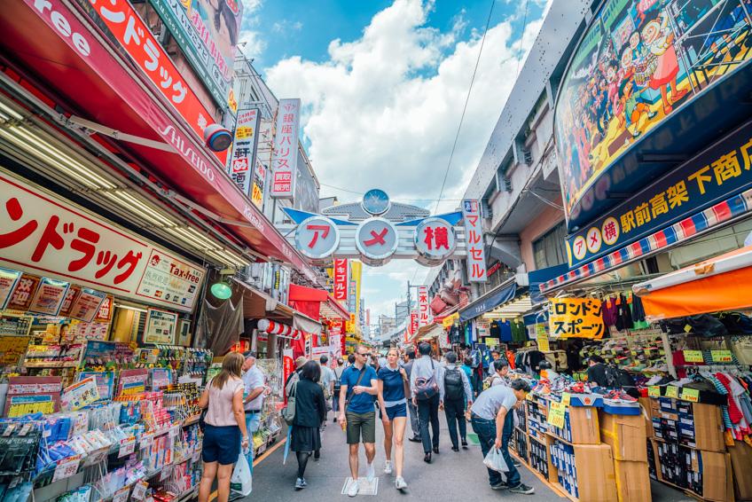 อุเอโนะ แผนที่ช้อปปิ้ง ในญี่ปุ่น
