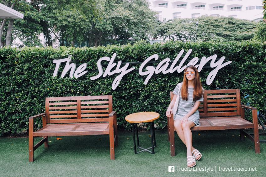 เที่ยวสัตหีบ งบน้อย The Sky Gallery พัทยา