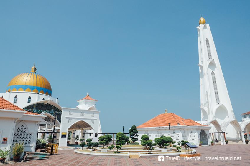 Malacca Straits Mosque มะละกา มาเลเซีย