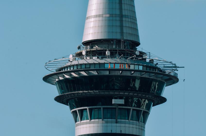 Skywalk in Auckland จุดชมวิว หวาดเสียว
