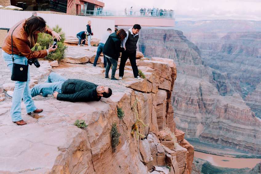 Grand Canyon Skywalk จุดชมวิว หวาดเสียว
