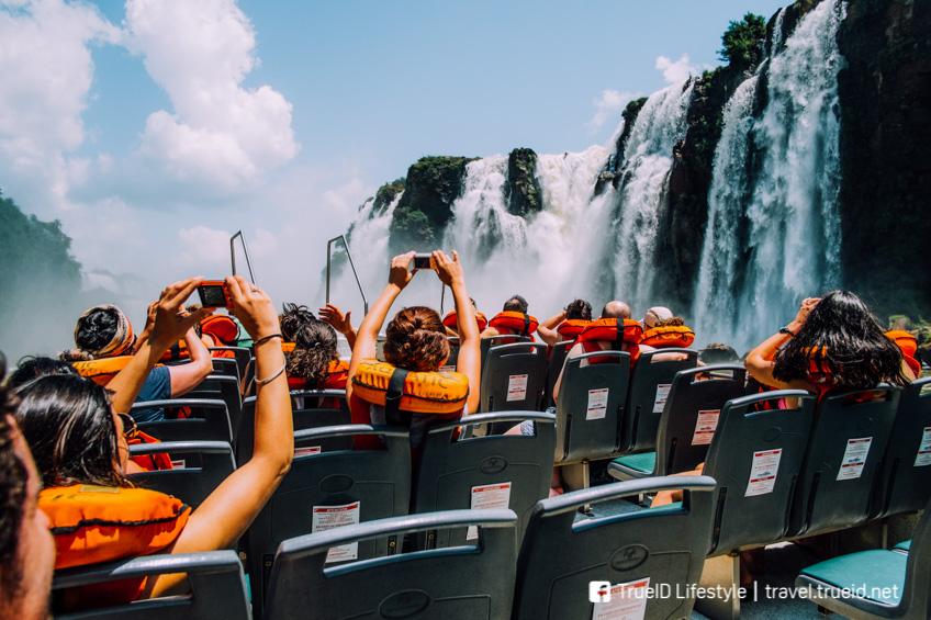 Iguazu Falls จุดชมวิว หวาดเสียว