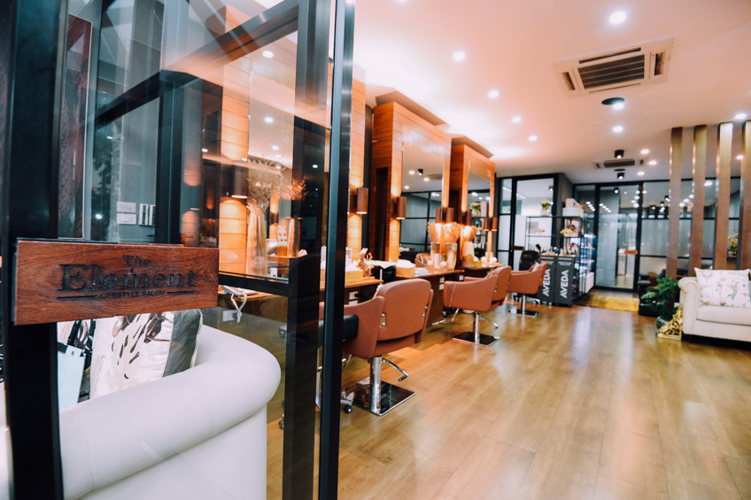 ร้าน The Element Lifestyle Salon พาร์ค เลน เอกมัย