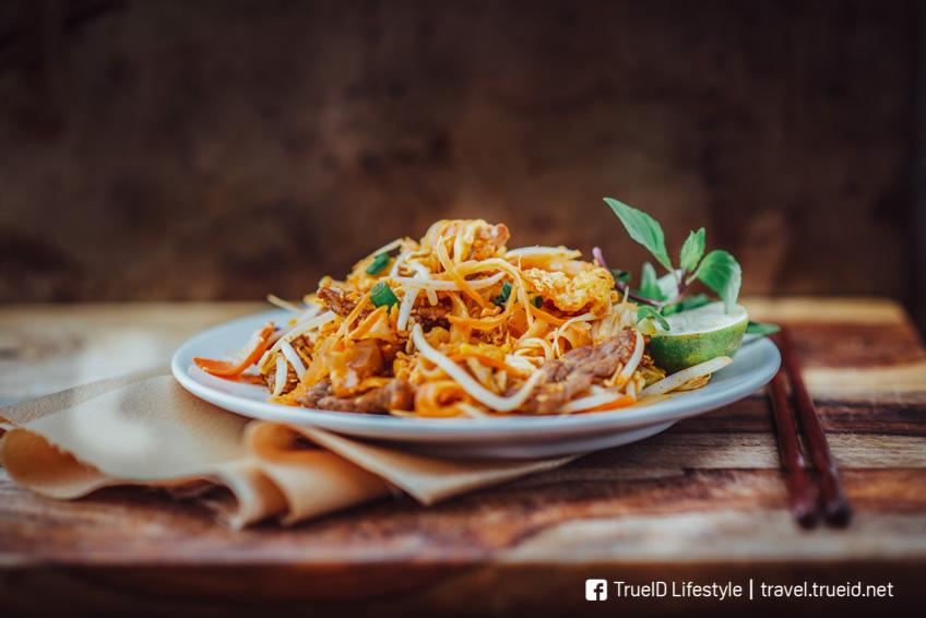 ผัดไทยเจ กินเจ 2018 อาหารเจ
