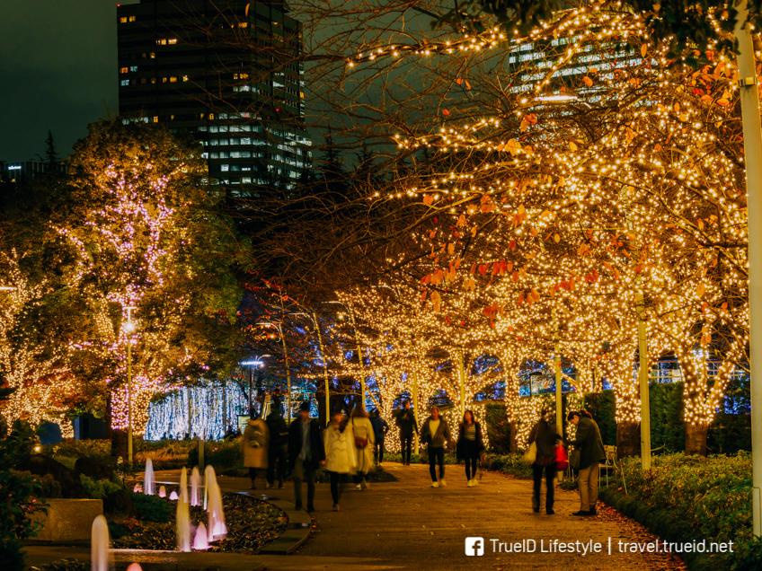 Tokyo Midtown Christmas งานไฟ ญี่ปุ่น โตเกียว