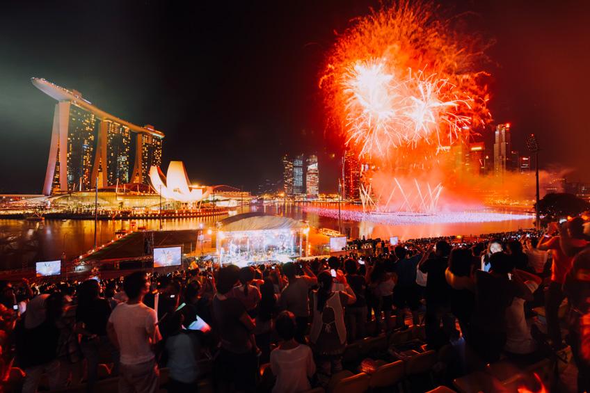 Marina Bay ปีใหม่ 2019